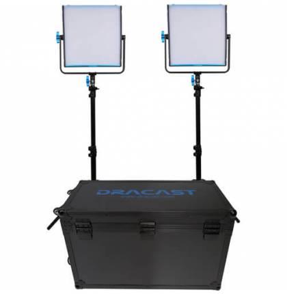 Dracast 2x KALA1000D LED Light Kit Daylight