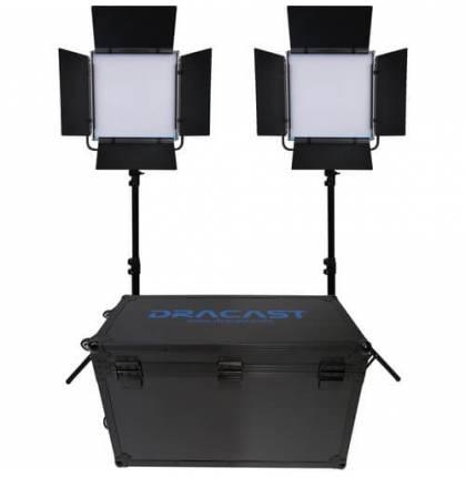 Dracast 2x KALA1000B LED Light Kit Bi-Color