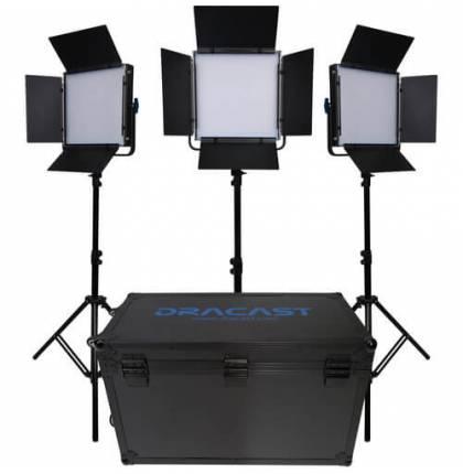 Dracast 3x KALA1000B LED Light Kit Bi-Color