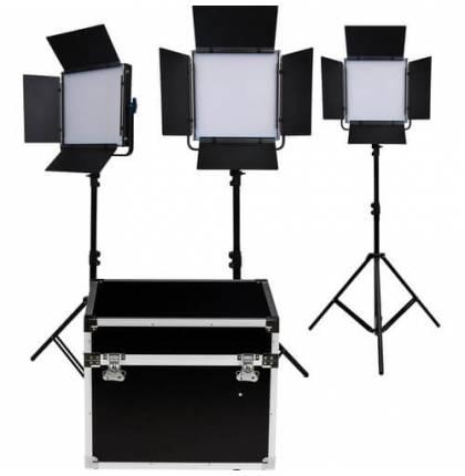 Dracast 3x KALA1000D LED Light Kit Daylight