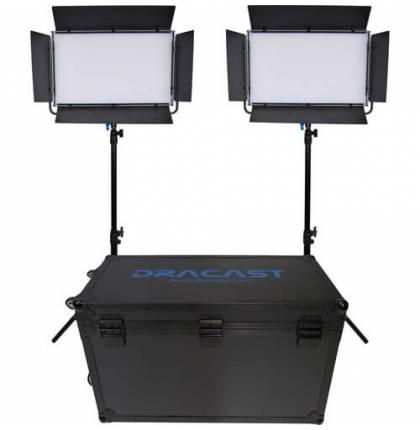 Dracast 2x KALA2000B LED Light Kit Bi-Color