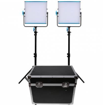 Dracast 2x SILQ500D LED Light Kit Daylight