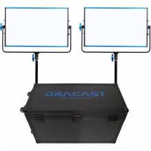 Dracast 2x SILQ1000B LED Light Kit Bi-Color