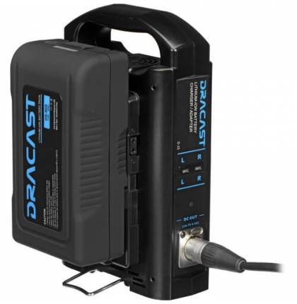 Dracast 90Wh V-Mount Battery And V-Mount Dual Battery Charger