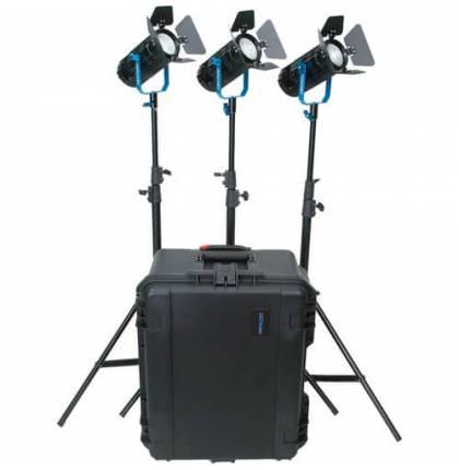 Dracast BoltRay 600 Plus LED Daylight 3-Light Kit
