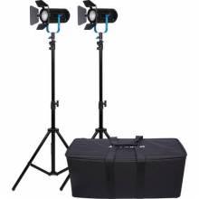 Dracast Boltray Plus 400 Daylight 3-Light Kit NP-F Battery