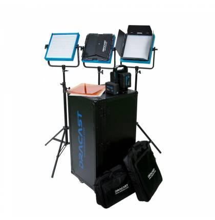 Dracast Studio Kit Pro Series Bi-Color V-Mount