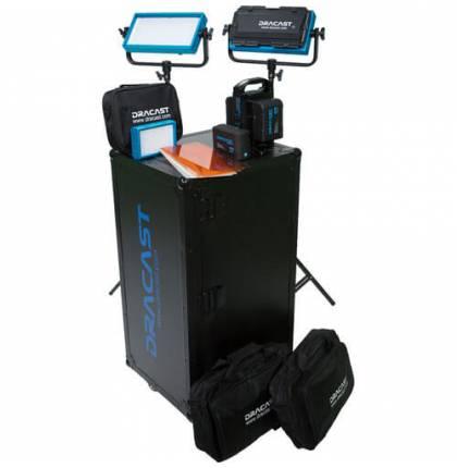 Dracast Interview Kit Pro Series Tungsten V-Mount