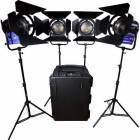 Dracast LED4000 Fresnel 4-Light Kit Tungsten