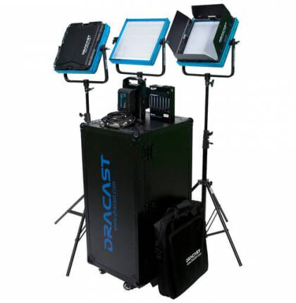 Dracast Newsroom Kit Plus Series Daylight