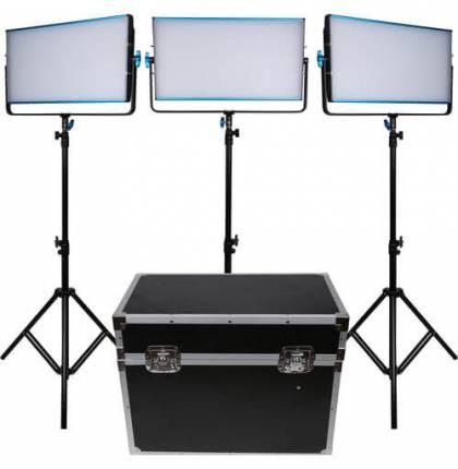 Dracast 3x SILQ3000B LED Light Kit Bi-Color