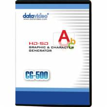 Datavideo CG-500 HD/SD Character Generator Software