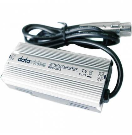 Datavideo DDC-2512 DC to 12VDC, 2.5A Converter