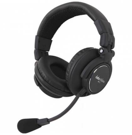 Datavideo HP-2A Dual-Ear Headset for ITC Intercom Systems