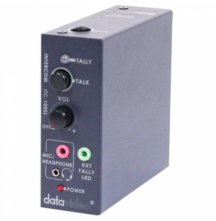 Datavideo ITC-100SL Additional Beltpack for ITC-100 Intercom System