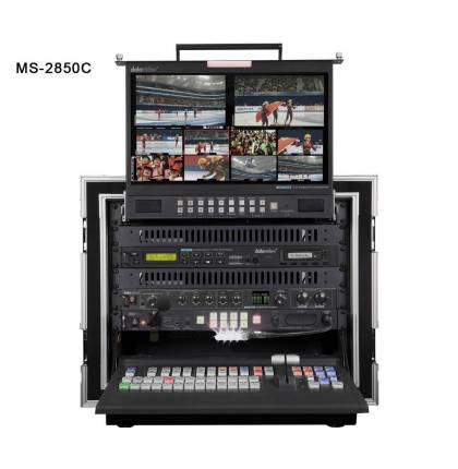 Datavideo MS-2850C HD/SD 8/12-Channel Mobile Video Studio