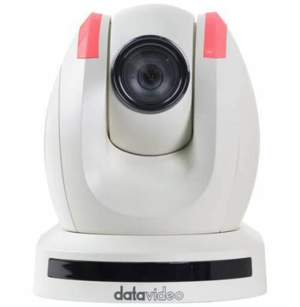 Datavideo PTC-150TW HD/SD-SDI HDBaseT PTZ Camera (with Receiver, White)