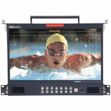 Datavideo TLM-170LM 3G-SDI Full HD Rackmount LCD Monitor 17.3