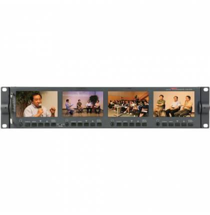 Datavideo HD SD 4.3 TFT LCD Monitor Bank (4 Displays)