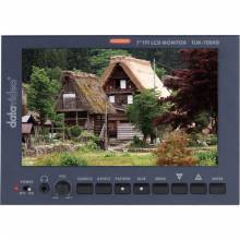 Datavideo TLM-700HD-S2 7in LCD Monitor with S7000F Sony Battery Mount