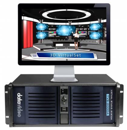 Datavideo TVS-2000A Tracking Virtual Studio System