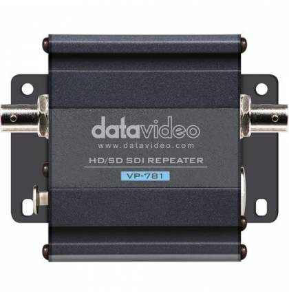 Datavideo VP-781 HD/SD-SDI Repeater with Intercom Audio Pass-Through