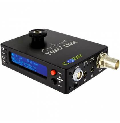 Teradek Cube 306 HD-SDI Decoder with OLED Display, External USB Port, and PoE