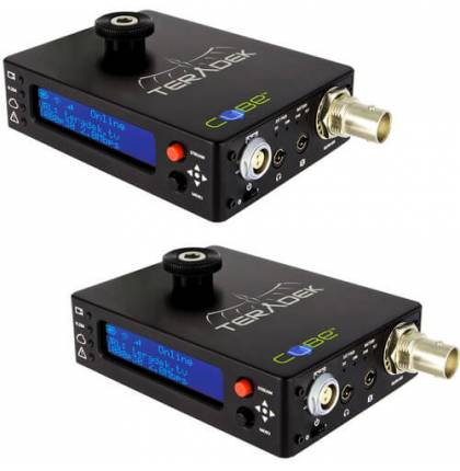 Teradek Cubelet 106/306 HD-SDI Encoder and Decoder Pair