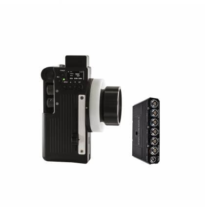 Teradek Wireless EF Lens Control Kit (Latitude-X Receiver, Mk3 1 Controller) Red