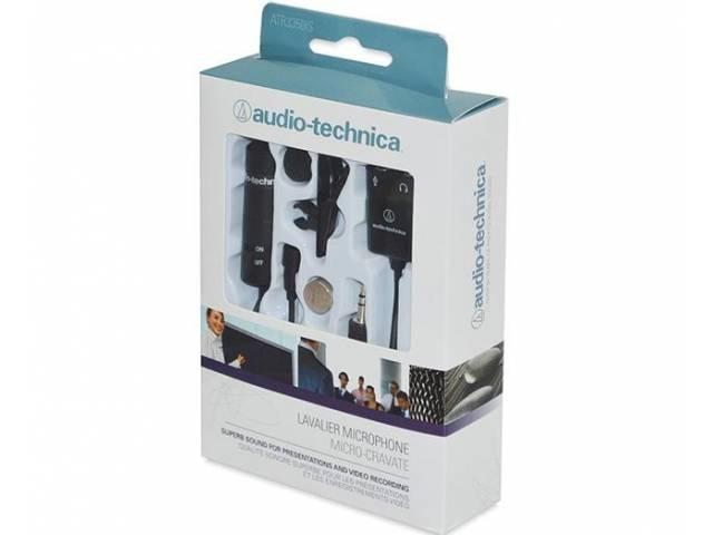Петличный микрофон Audio-Technica ATR3350iS