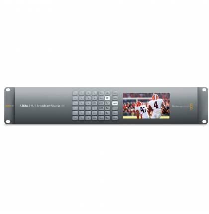 Blackmagic Design ATEM 2 M/E Broadcast Studio 4K Switcher