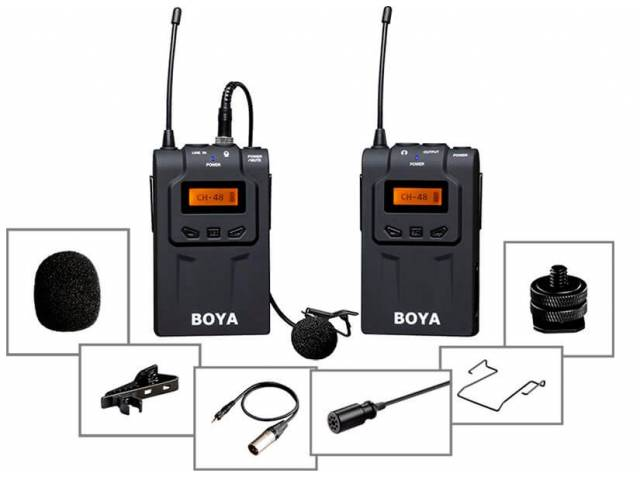 Микрофонная система Boya BY-WM6