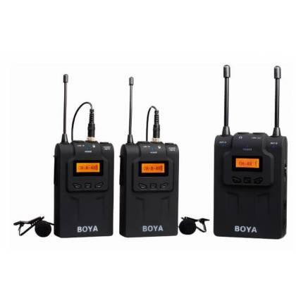 Беспроводная микрофонная система Boya BY-WM8