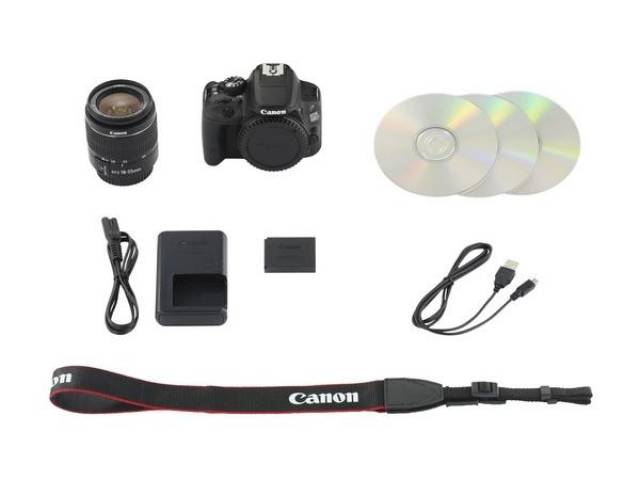 Canon EOS 100D+EF-S 18-55 IS ST+ EF 40mm STM Kit