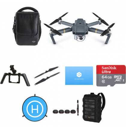 DJI Mavic Pro Platinum Fly More Combo and Accessories