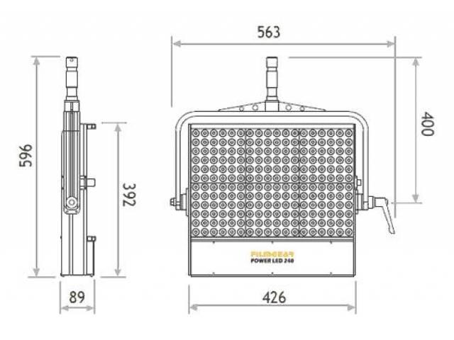 Панель FILMGEAR POWER LED 240 Bi-color