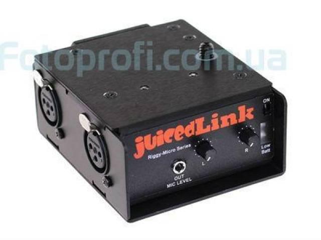 Накамерный предусилитель JuicedLink Riggy-Micro RM202