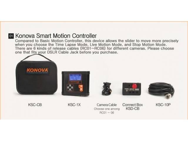 Моторизованная система для слайдера Konova Smart Pan Tilt