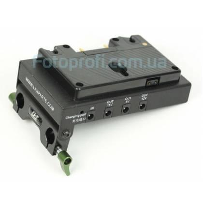 Крепление LanParte ABP-01 для батареи Anton Bauer Gold Plate с HDMI сплиттером