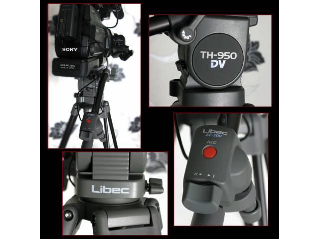 Штативный комплект Libec TH-950DV