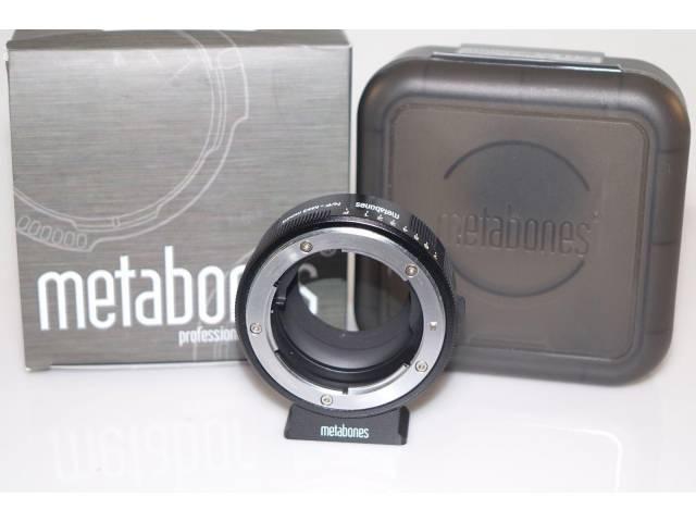 Metabones Speedbooster NFG-m43-BM1 для объективов Nikon G-mount на камеры с Micro 4:3