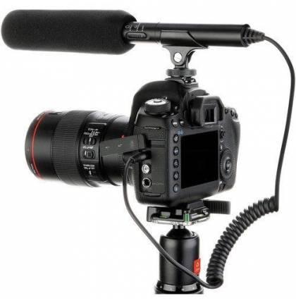 Накамерный микрофон пушка HTDZ-HT81