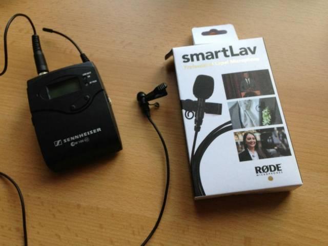 Петличный микрофон RODE SmartLav
