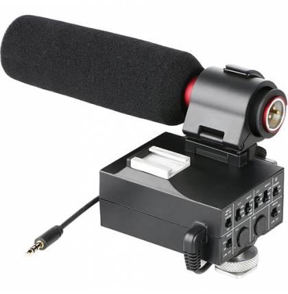 Накамерный микрофон с микшером Saramonic MixMic