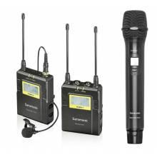 Радиосистема с петличным и ручным микрофоном Saramonic Uwmic9 1+1+HU9