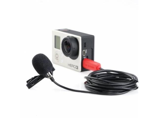 Петличный микрофон Saramonic SR-GMX1 для GoPro