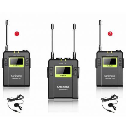 Микрофонная система Saramonic UwMic9 2+1 (TX9 + TX9 + RX9)