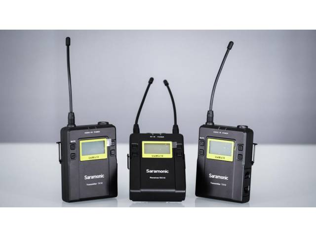 Радиосистема Saramonic UwMic9 2+1 (TX9 + TX9 + RX9)