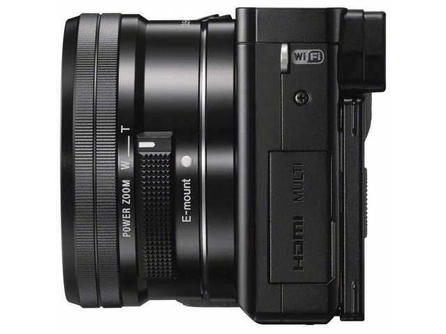 Цифровая фотокамера Sony Alpha 6000 + объектив 16-50 kit Black