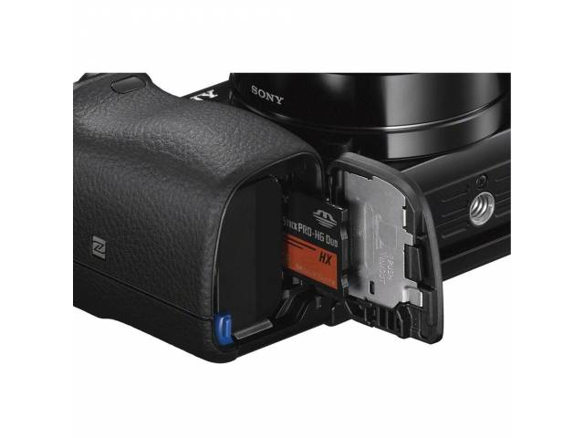 Цифровая фотокамера Sony Alpha 6000 body Black